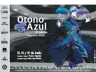Encuentro de Teatro Otoño Azul 2008